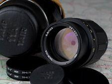 TAIR 11A  2.8/135 M42 mount lens ORIGINAL CASE and CAPS TAIR-11A