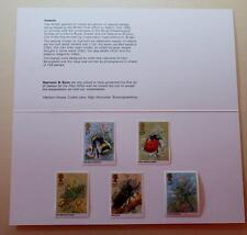 GB 1985 INSECTS HARRISON PRESENTATION PACK MINT STAMPS SG1277-1281 # 2155+