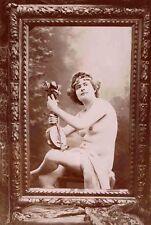 J M CANELLAS photo de nue c.1890 risque sexy / 12