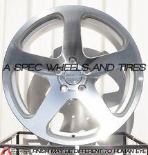 18x8.5 Varrstoen Mk1 Wheels 5x100 +35 Machine Rims Fits Jetta Matrix Corolla Frs