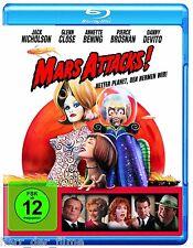 MARS ATTACKS! (Jack Nicholson, Glenn Close) Blu-ray Disc NEU+OVP