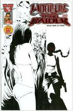 WITCHBLADE TOMB RAIDER #1 DYNAMIC FORCES RED EYES FOIL VARIANT DF LTD 100 MOVIE