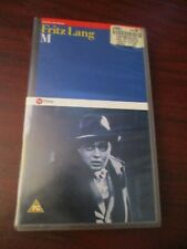 Fritz Lang M   VHS Video Tape (NEW)
