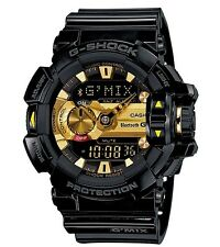 Casio G-Shock * GBA400-1A9 G'MIX iOS Android Bluetooth Black Gold COD #crzyj