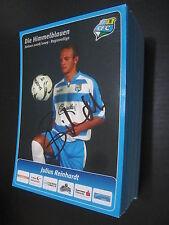 29189 Reinhardt 08-09 Chemnitzer FC CFC original signierte Autrogrammkarte