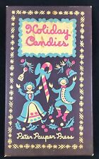 1954 The Peter Pauper Press Holiday Candies Illustrated Cookbook Cook Book Box