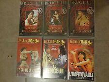 Lot de 6 cassettes VHS – BRUCE LEE et JACKIE CHAN