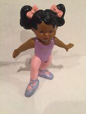 Fischer Price African American Ballet Dancer Girl Doll Loving Family Ballerina