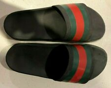 Gucci Slides Black/Red/Green Men's Size 11 Used - Good Condition