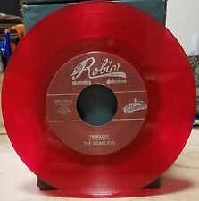 Scarlets | Doo Wop Repro Red Wax 45 | Cry Baby / True Love | Red Robin NM-