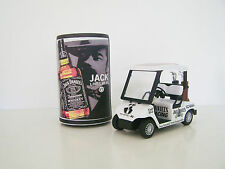 GOLF CART BUGGY- Jack Daniel's +Stubby Holder Clubs,Driver,Iron,Putter,Bag,Ball,