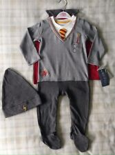 Baby Boys Official Harry Potter Babygrow Uniform Fancy Dress/All In One Costume