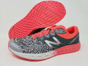 New Balance Girl's 1980 v1 Running Shoe, Grey/Pink, 5.5 M US Big Kid