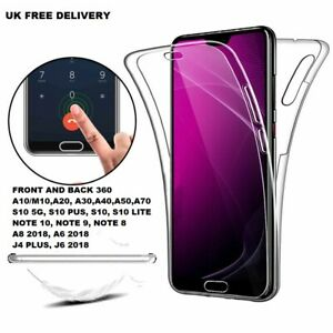 For Samsung Galaxy S10 S9 S8 PLUS S6 S7 EDGE 360°Hybrid Shockproof Case Cover