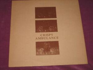 "CRISPY AMBULANCE - UNSIGHTLY & SERENE/DEAF - FACTORY UK 1981 10"" ORIGINAL"