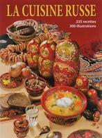 """Livre russe - """"La Cuisine russe""""  en Français - Souvenir Russe"""