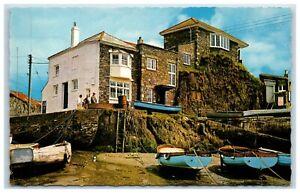 Postcard Mevagissey Cornwall Johnny Frenchman's House