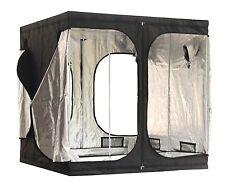 More details for 2x2x2m grow tent bud dark green room hydroponics box mylar silver