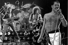 QUEEN ++Autogramme++ ++KULT Rock Gruppe++2