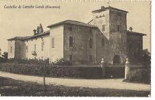 PIACENZA CARPENETO PIACENTINO CASTELLO DI CERRETO LANDI 1910 CIRCA