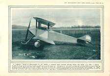 1915 Sopwith Scout Tractor Biplane French Field Gun