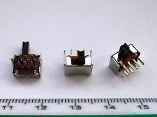 SW21 20pcs Miniature Slide Switch 2-position ON/ON DPDT