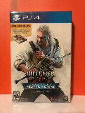 Witcher 3 Heart Of Stone Expansion Pack. Complete W/ 2 Gwent Decks And Expansion