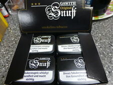 Gawith Snuff tabak original Pöschl 20 x10gr.+Taschentücher inclusive Toppreis!!
