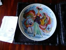 Henri D'Arceau Limoges Albertine Decorative Porcelain Collector Plate