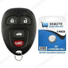 Replacement for Buick Allure Lacrosse Chevy Cobalt Malibu Remote Car Key Fob 4b