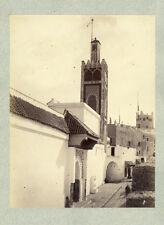 Photo JP Albuminé Maroc Tétouan Vers 1880