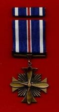 One full size US Distinguished Flying Cross  medal with ribbon bar  DFC