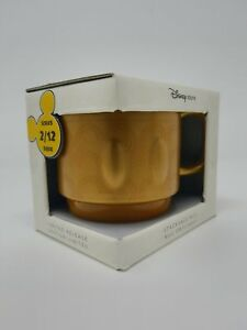 Disney Store Mickey Memories Ceramic Stackable Mug February Limited Edition New