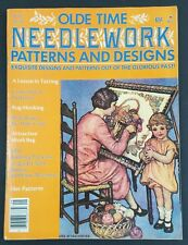Olde Time Needlework Patterns & and Designs September 1978 Tower Press