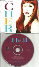 CHER One by 3TRX w/ TURN BACK TIME & It's A Man's World CD single USA Seller
