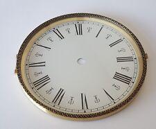 Brass Clock Bezel and Glass 160mm Roman Dial