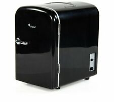 4 Litre Black Mini Travel Fridge Along With You In The Car Or Out Camping NEW_UK