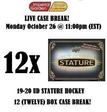 19-20 UD STATURE 12 (TWELVE) BOX INNER CASE BREAK #1984 - Buffalo Sabres