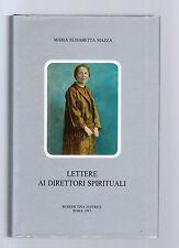 lettere ai direttori spirituali - maria elisabetta mazza -