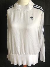 Adidas Shirt Oversized Gr. 32 / XS Weiß, Krinkle,, Blogger . Selten