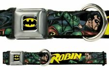 Dog Collar Seat Belt Licensed DC Comics Robin WBM066