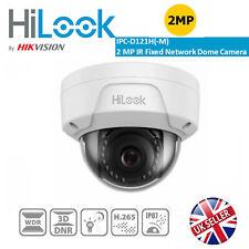 Hikvision HiLook Camera IP Network PoE 2MP 1080P 2.8mm Vandal IP67 IPC-D121H-M