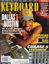 Keyboard Magazine July 2001 Dallas Austin, Cubase 5, Squarepusher, Blues Class