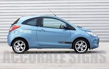 GRAPHICS FOR FORD KA DECALS STICKERS STRIPES CAR DECALS ANY COLOUR