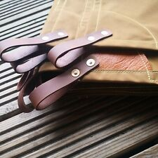 Waxed canvas leather tarp  leathercraft 🇬🇧 bushcraft glamping wildcamping