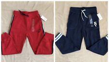 Nwt Baby Gap Boy's (2) Logo Jogger Red & Navy Sweat Pants 5t