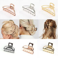 Women New Hair Accessories Metal Modern Stylish L/S Hair Claw Clips Hairband LZ