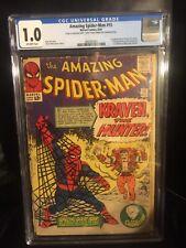 Amazing Spider-Man #15 CGC 1.0 (Marvel Comics 1964) 1st appearance of KRAVEN