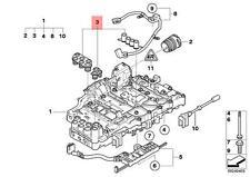 Genuine BMW E81 E82 E83N E84 Valve Body Seal Transmission Set OEM 24277581598
