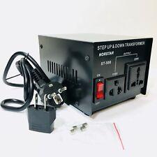 Norstar 500 Watt 110 220 Volt Voltage Converter Step Up Down Power Transformer